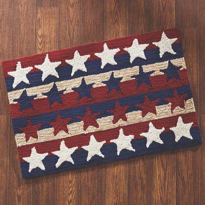 Stars & Stripes Americana Indoor/Outdoor Mat