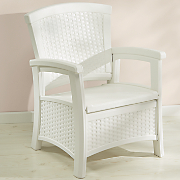 white club chair