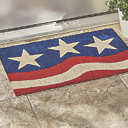 3 star door mat   17 1 4  x  28 1 4