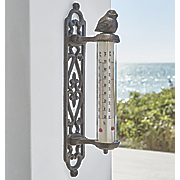 cast iron bird thermometer