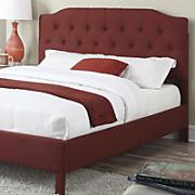 luxemburg queen size linen bed