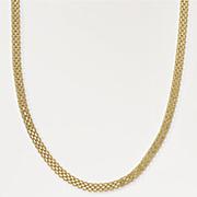 gold over sterling silver bismark necklace