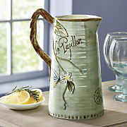 toulouse pitcher by fitz   floyd