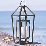frame lantern with led candle