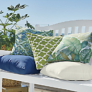 bright outdoor pillow