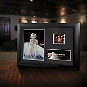 marilyn monroe minicell framed film cell