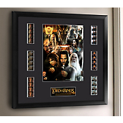 the lord of the rings mixed montage framed film cell