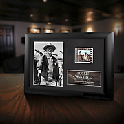 john wayne minicell framed film cell