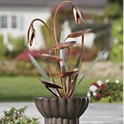 lily leaf fountain