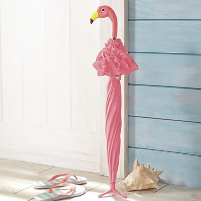 Henry The Flamingo Umbrella