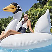 mega swan island inflatable by intex