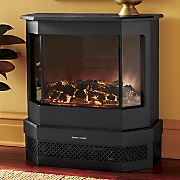 3 sided contemporary classic fireplace