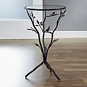 bird   branches tripod table
