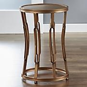 golden hourglass table