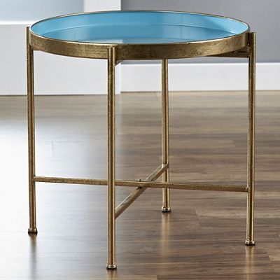 Golden Pop-Up Tray Table