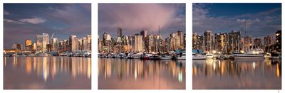 3-Piece Skyline Wall Art