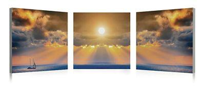 3-Piece Sunset Wall Art