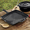 Cast Iron Square Skillet
