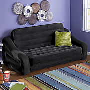 pullout sofa and chair by intex