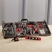 161 pc  household tool kit by apollo