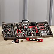 161 pc  household tool kit by apollo
