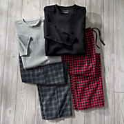 men s 4 pc  samuel pajama set