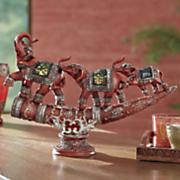 elephant trio figurine