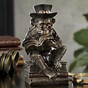steampunk chimpanzee scholar