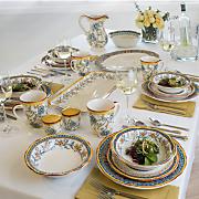 16 pc  duomo dinnerware set