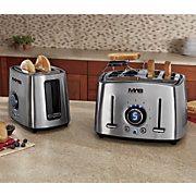 classic collection stainless steel toaster by mas