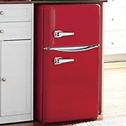 3 2 cu  ft  double door retro fridge by mas