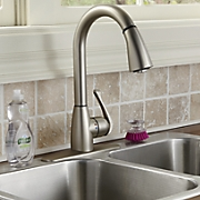 bell pull down kitchen faucet by cleanflo