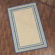 multi border rug