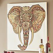 embellished elephant print