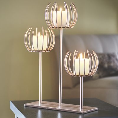 Pierce Tabletop Candle Holder