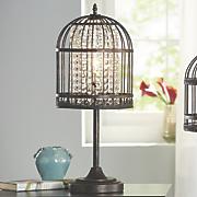 birdcage table lamp