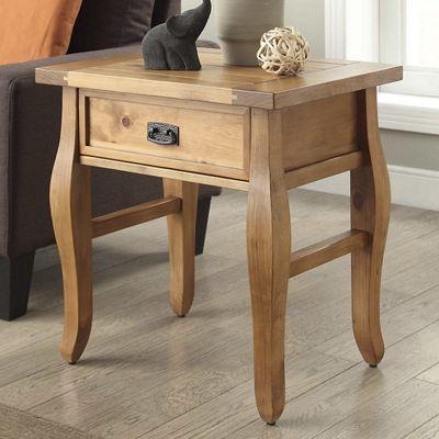 Santa Fe End Table by Linon