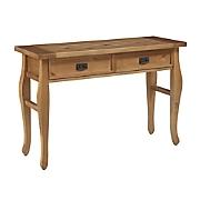 santa fe pine console table by linon