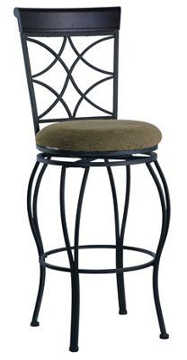 Curves-Back Counter Stool by Linon