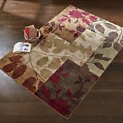 leaf shadows rug