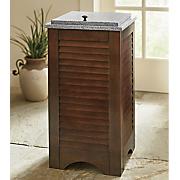 shutter trash bin