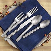 20 pc  ironwood flatware set