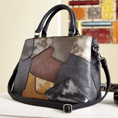 Patch Distressed Bag