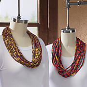 simone shredded infinity scarf