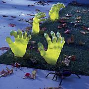 4 pc  creepy driveway hand set