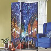 lighted impressionist room screen