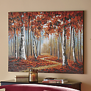 3 d forest canvas