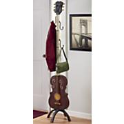 guitar coat rack