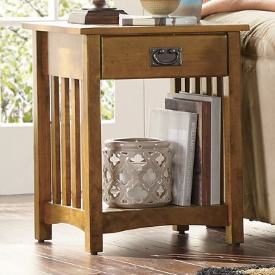 Mission Critical End Table