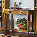 Mission Critical Console Table